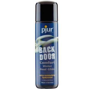 Back door, Pjur, relajante anal, base de agua